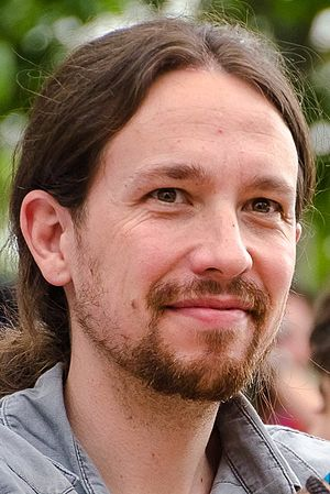 1st Podemos Citizen Assembly - Image: Pablo Iglesias 2015 (cropped)