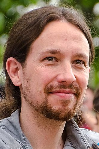 Spanish general election, 2015 - Image: Pablo Iglesias 2015 (cropped)