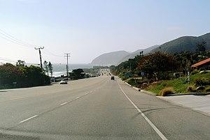 Solromar, California - Pacific Coast Highway (CA 1) in Solromar