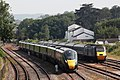 Paignton Carriage Sidings - GWR 800313 and CrossCountry 43207-43384.JPG
