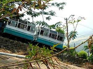 Palani Murugan temple - Palani rope car