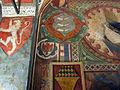 Palazzo comunale di s. miniato, sala delle sette virtù, stemma guicciardini 01.JPG