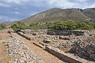 Roussolakkos Minoan city