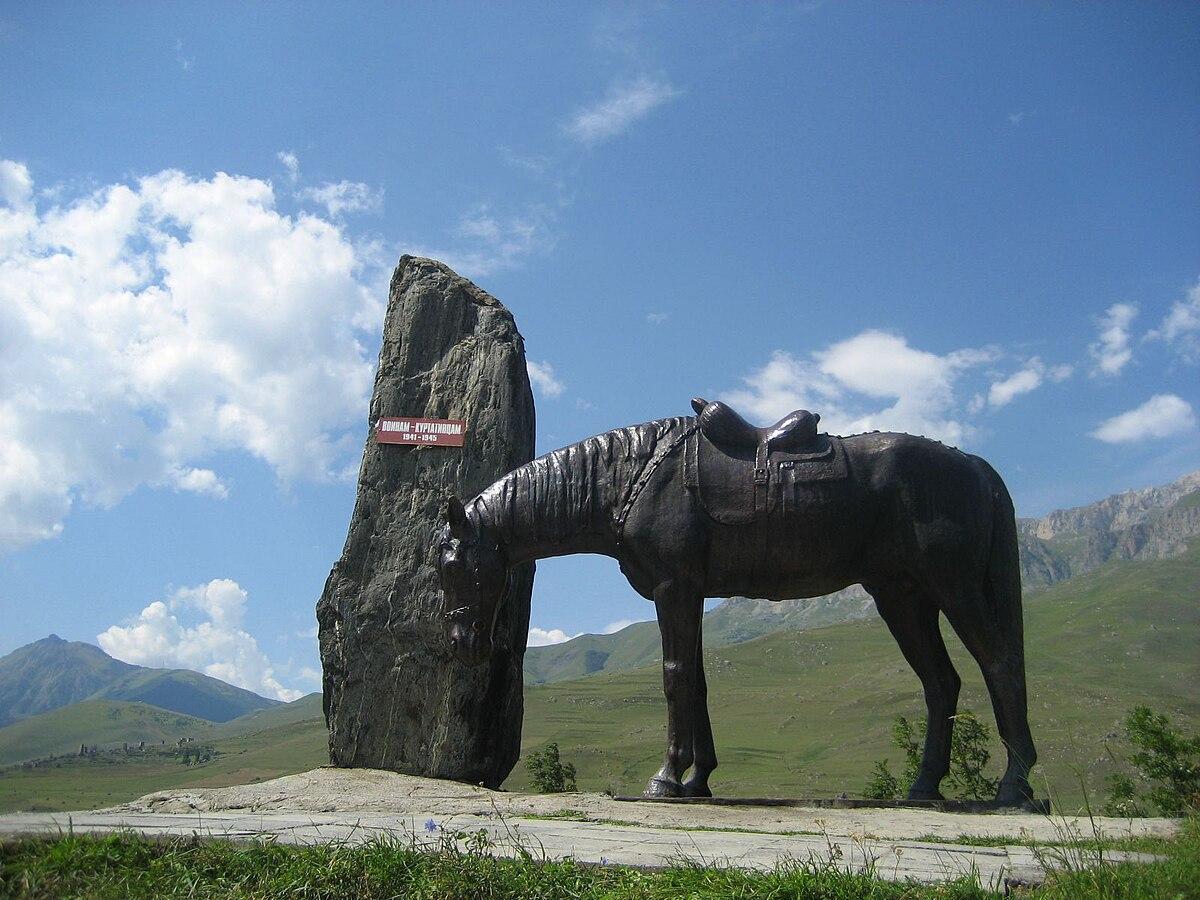 Фиагдон памятник воинам куртатинцам павшим в вов оформление памятники из гранита эксклюзив