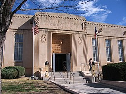 Panhandle-Plains Historical Museum in Canyon Texas USA.jpg