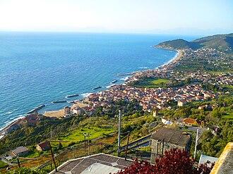 Santa Maria di Castellabate - Image: Panoramasmariadicte
