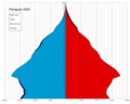 Paraguay single age population pyramid 2020.png