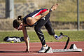 Paralympic athlete Michelle Errichiello at the AIS Track and Field.jpg
