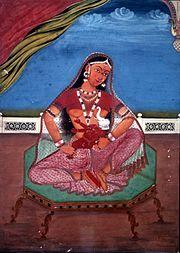 Parvati Ganesha