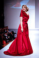 Pascale Hutton wearing Paul Hardy - Heart and Stroke Foundation - The Heart Truth celebrity fashion show - Red Dress - Red Gown - Thursday February 8, 2012 - Creative Commons -d.jpg