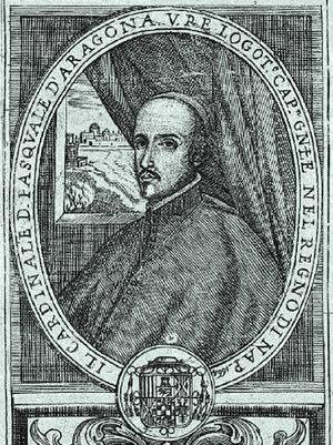Pascual de Aragón - Image: Pascual de Aragón cardinal archbishop of Toledo