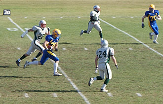 Saskatoon Minor Football Field - Image: Pass Reception