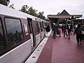 Passengers exiting WMATA 5000-Series cars at Vienna.jpg