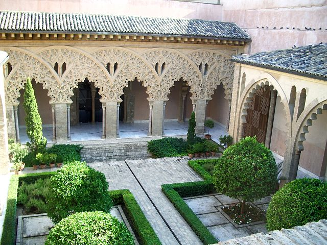 File patio de santa wikimedia commons for Jardin zaragoza
