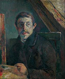 Paul Gauguin - Self-Portrait - Google Art Project