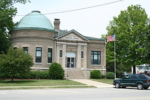 Paxton, Illinois - Paxton Carnegie Public Library.