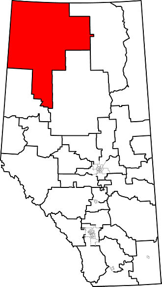 Peace River (provincial electoral district) - 2004 boundaries