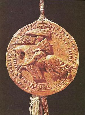 Ottokar II of Bohemia - Ottokar's royal seal