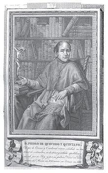 Don Pedro de Quevedo y Quintano, Obispo de Orense