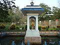 Peechi Dam Garden Statue of Parasurama.JPG