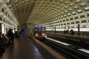 Pentagon City station - Image: Pentagon City Metro Station DC 12 2011 00062