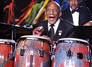 Cándido Camero Cuban percussionist