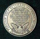 Persian Gulf Veterans National Medal of US