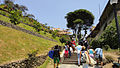 Peruvian People climbing stairs in Barranco.jpg