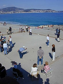 Petanque on a beach of Nice.jpg
