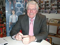 Peter Purves w Norwich w 2009 r.