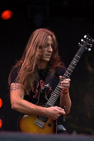 Peter Lindgren (musician) - Peter Lindgren in concert with Opeth