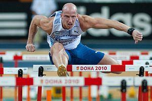 Petr Svoboda (athlete) - Image: Petr Svoboda Doha 2010