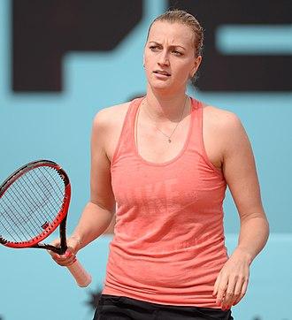 Madrid Open (tennis) - Image: Petra Kvitova (18224910500)