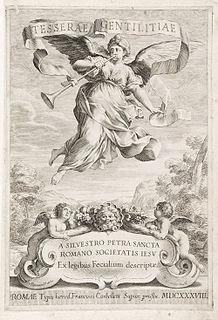 Silvester Petra Sancta Italian Jesuit and heraldist