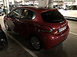 Peugeot 208 de Sixt à l'aéroport de Malaga en Espagne.jpg