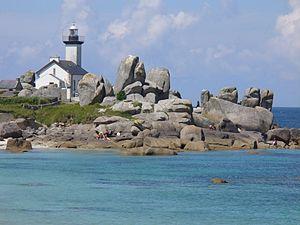 Finistère - Image: Phare de Pontusval 4490