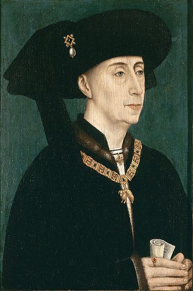 Retrato de Felipe III de Borgoña.