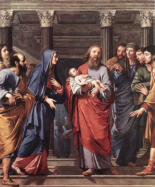File:Philippe de Champaigne The Presentation of the Temple.jpg