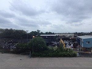 2013 Smethwick fire - Aftermath, seen on 2 July 2013