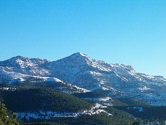 Sierra de Alcaraz - View of Pico Almenara