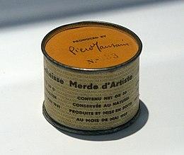Piero Manzoni - Merda D'artista (1961) - panoramio.jpg