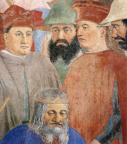 Piero della Francesca - 8. Battle between Heraclius and Chosroes (detail) - WGA17569