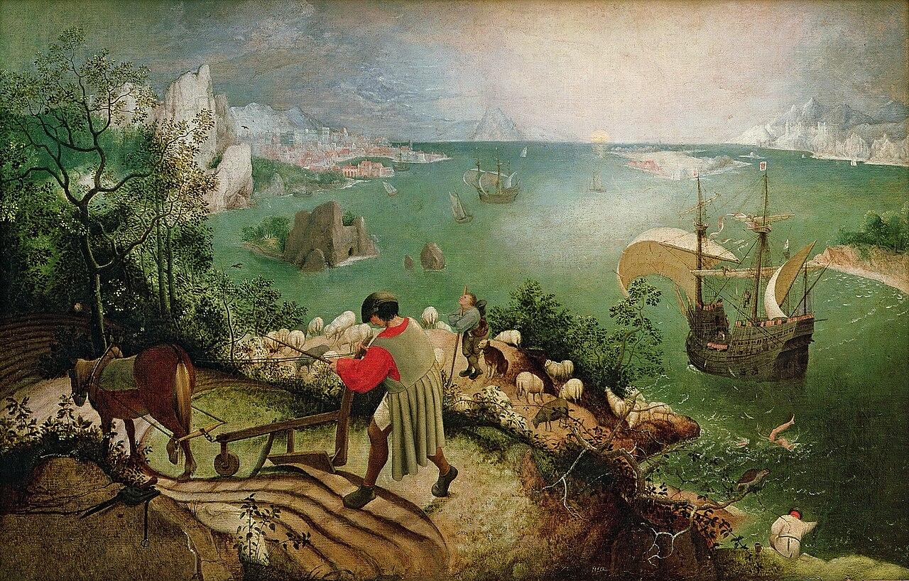 (2) Bruegel은 투시법의 실수를 저지르지 않나?