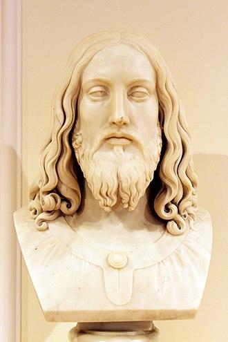 Pietro Tenerani - Bust of Jesus in the Azerbaijan National Art Museum