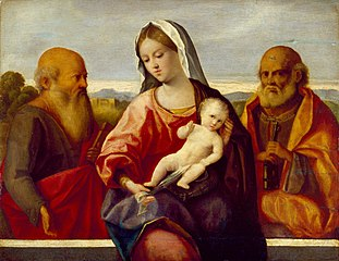 Madonna and Child with Saints Peter and Paul