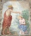 Pieve di cercina, int., battesimo di cristo da santi di tito, xvi-xvii sec.JPG