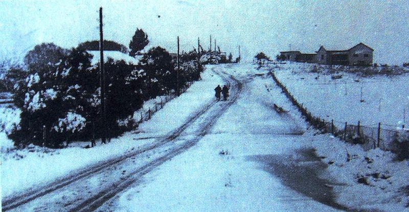 שדה-ורבורג בשלג