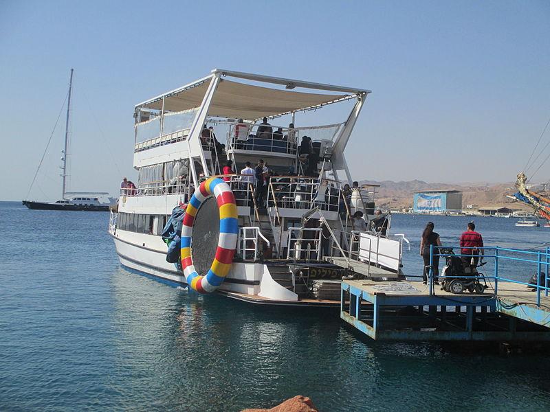 ספינת תיירים באילת
