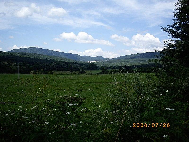 File:Pilisszentkereszt távolról - panoramio.jpg