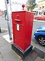 Pillar box LL30 13, Gloddaeth St, Llandudno 4.jpg